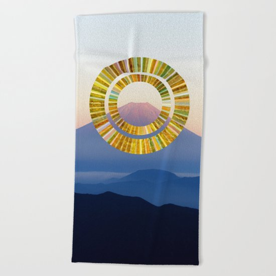 The Rising Sun Beach Towel