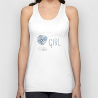 fangirl Tank Tops featuring FANGIRL. by Rosianna
