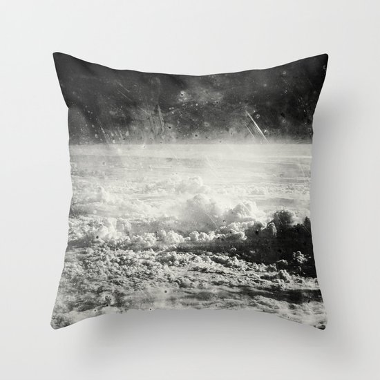 Somewhere Over The Clouds (I Throw Pillow