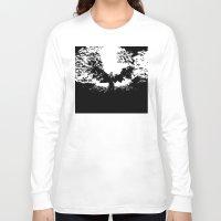dracula Long Sleeve T-shirts featuring Dracula by Panda Cool
