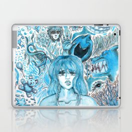 Doodles of Disturbing Thoughts Laptop & iPad Skin