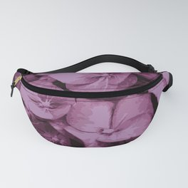 Pink Purple Floral Fanny Pack