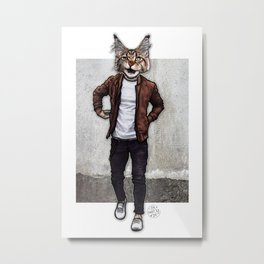 The Dave I Know, Cool Cat Metal Print