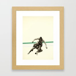 The Wrestler Framed Art Print