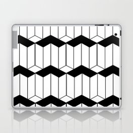 Geometric cube seamless pattern 3d Fashion graphic design Laptop & iPad Skin