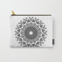 Owl Mandala Carry-All Pouch