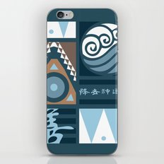Korra and Amon Banners iPhone & iPod Skin