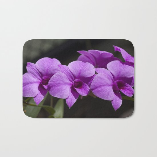 Orchid purple Bath Mat