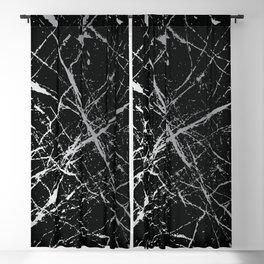 Silver Splatter 090 Blackout Curtain