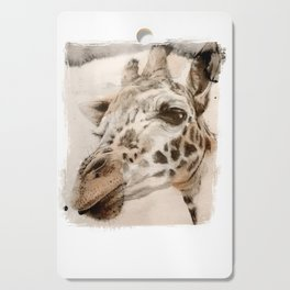 Giraffe Cutting Board