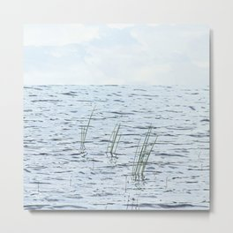 Calm waters. Metal Print