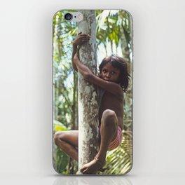 Climbing Trees iPhone Skin