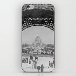 Eiffel Tower - World's Fair 1889 iPhone Skin