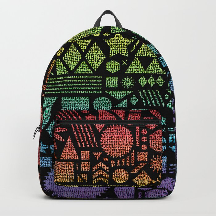 Modern Elements with Spectrum. Backpack