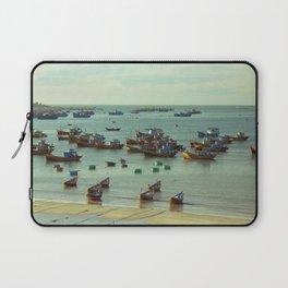 fishing village Laptop Sleeve
