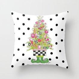 Sweet Shoppe Tree Throw Pillow