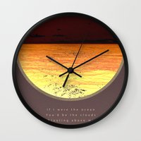 poem Wall Clocks featuring Ocean poem by Joris182