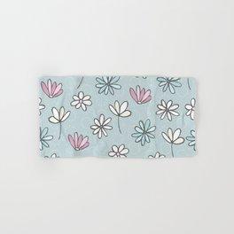 Cute Floral Ditsy Pattern Hand & Bath Towel