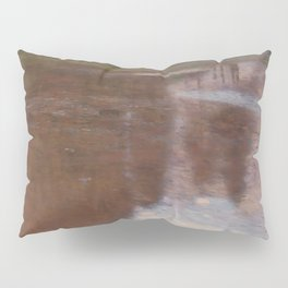 Gustav Klimt - Tranquil Pond Pillow Sham