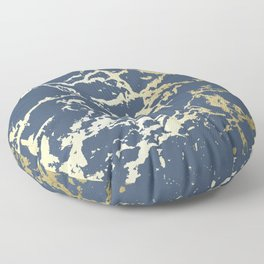 Kintsugi Ceramic Gold II Floor Pillow