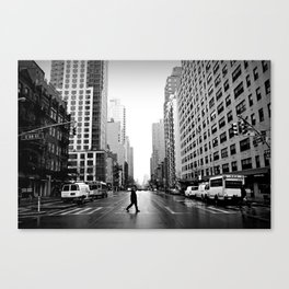 88th Street Canvas Print