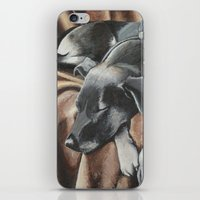 gizmo iPhone & iPod Skins featuring Gizmo by Athena Cooper