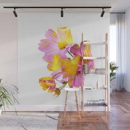 New Mixed Era -  Purple Faced Flower Wall Mural
