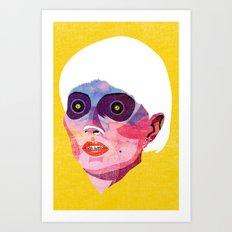 head_121213 Art Print