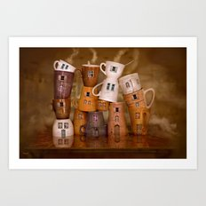 Coffeetime ! Art Print