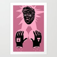 horror Art Prints featuring Horror by Olivier Carignan
