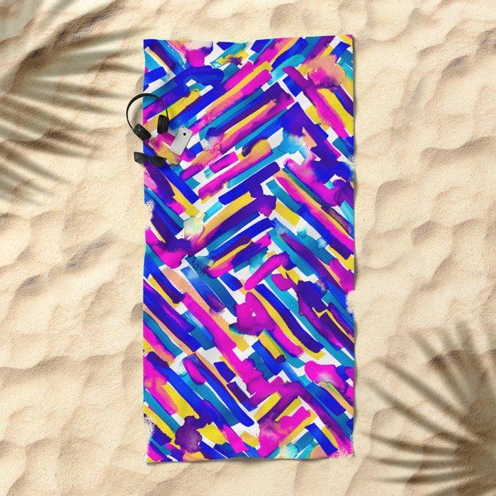 IDGAF Beach Towel