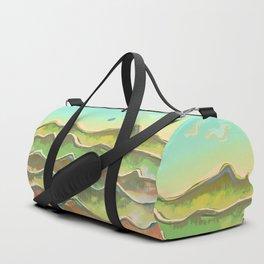 Magic Flight over the Sea of Clouds Duffle Bag