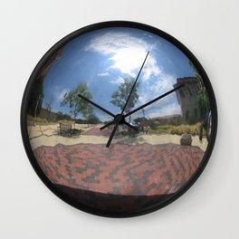 Sphere Study IV Wall Clock