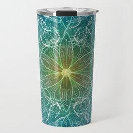 Pure Growth Mandala Travel Mug