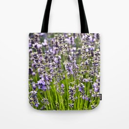 French Blue Lavender Tote Bag