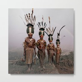 Culture and Customs Metal Print