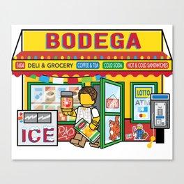 Bodega Canvas Print