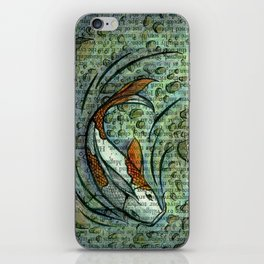 Koi Pond iPhone Skin
