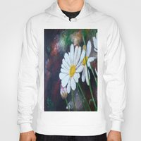 daisies Hoodies featuring Daisies  by ANoelleJay