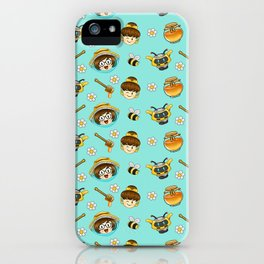 Mei and Dva bee-watch iPhone Case