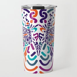 Colorful Fly Travel Mug