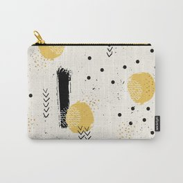 Strokes and geometric 02 Carry-All Pouch