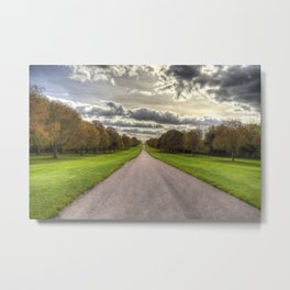 The Long Walk Windsor Metal Print