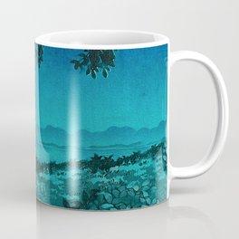 Nightime in Gissei Coffee Mug