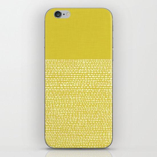 Riverside(Yellow) iPhone & iPod Skin