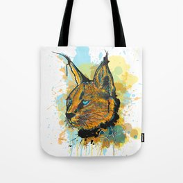 Caracal Tote Bag