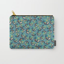 Luchador Pattern Carry-All Pouch