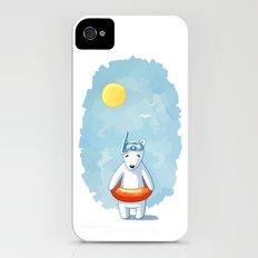 Polar Beach iPhone (4, 4s) Slim Case