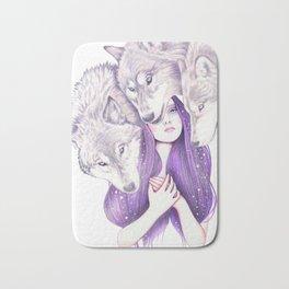 Wolf Pack Bath Mat