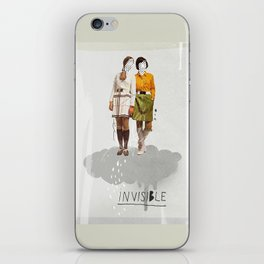 Invisible | Collage iPhone Skin